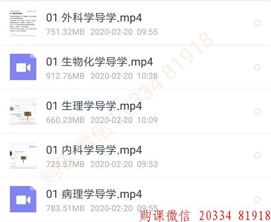 2021蓝基因刘忠保考研西医综合全程班:高端直播课程5课时